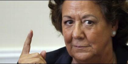 La alcaldesa de Valencia presidía el último pleno.