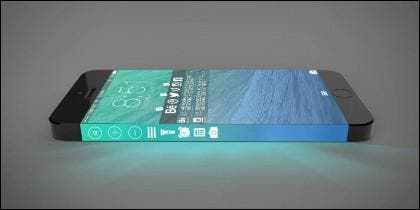 Recreación de cómo podría ser el iPhone 7.