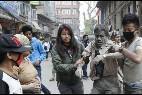 Una víctima del terremoto de Nepal