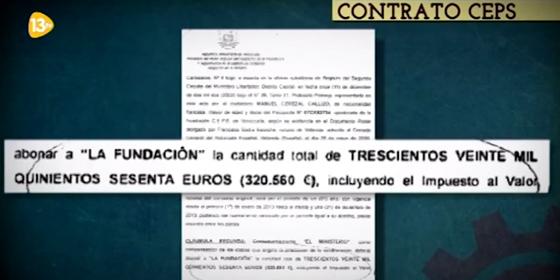 SE DEMUESTRA CADA DIAS MAS LOS CHORIZEOS DE PODEMOS Contrato