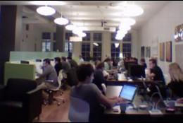 Centro de coworking.