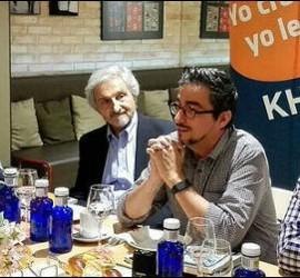 De izda. a dcha. Roberto Alifano, Jesús Bastante y Juan Pedro Castellano