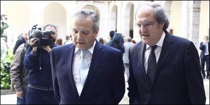 Antonio M. Carmona y Ángel Gabilondo