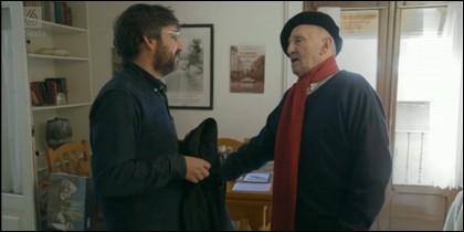Évole y Lucio Urtubia en 'Salvados'.
