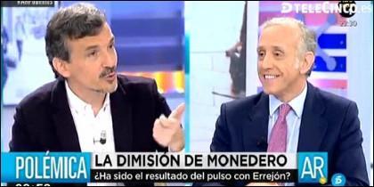 José Manuel López y Eduardo Inda.