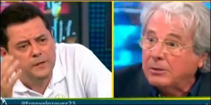 Tomás Roncero y Jorge D'Alessandro.