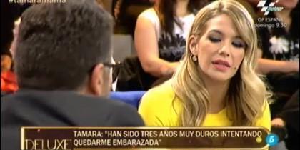 La tertuliana Tamara Gorro.
