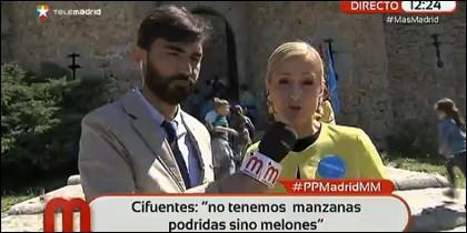 La candidata del PP en Madrid.
