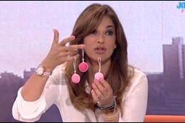 Mariló Montero con las bolas chinas.
