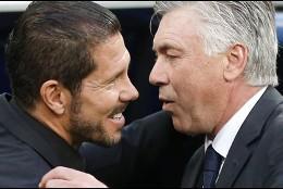 Simeone y Ancelotti.