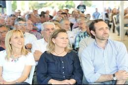 Bauzá junto a Salom en campaña