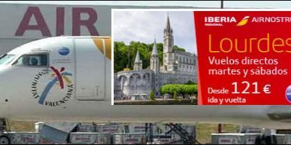 Air Nostrum, camino de Lourdes