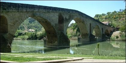 El más hermoso puente del Camino