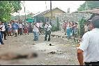 La vítima en Guatemala