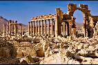 La ciudad de Palmira en Siria.