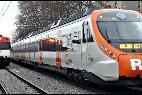 Tren en Cataluña.