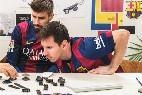 Messi y Piqué diseñan sus nuevos relojes