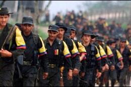 Miembros FARC