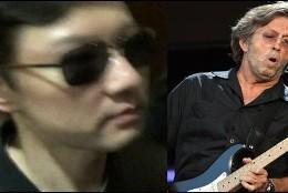 Kim Jong-chol y Clapton