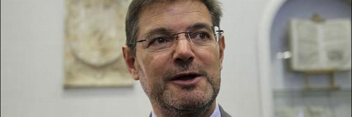 El ministro de Justicia no ve delito si un periodista recuerda que G. Boye fue condenado por terrorismo.