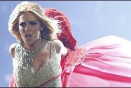 Edurne en Eurovisión 2015.