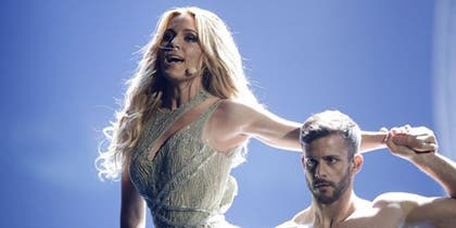 La cantante, 21 de 27 en Eurovisión.