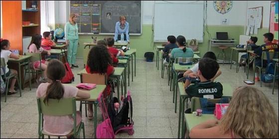 Alumnos de Educación Primaria.