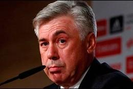 El entrenador del Real Madrid, Carlo Ancelotti.
