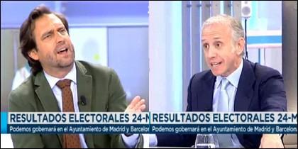 Luis Arroyo y Eduardo Inda.