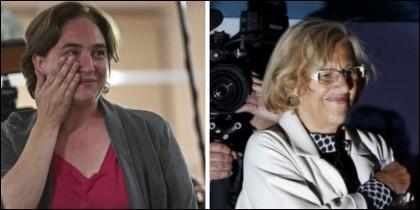 Ada Colau y Manuela Carmena, populismo municipal.