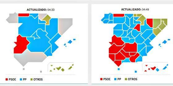 24M Elecciones sin mayoras que obligan a una segunda vuelta de