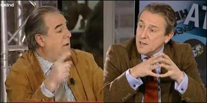 Graciano Palomo y Hermann Tertsch.