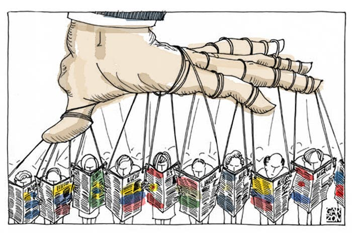 libertad de prensa y derecho a la: