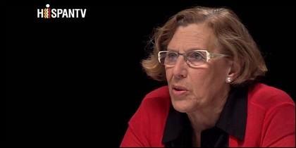 La podemita Manuela Carmena.