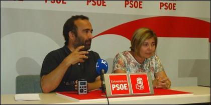 Miguel Ángel Morales y Rosario Cordero.