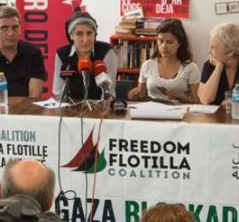Teresa Forcades y la flotilla de la libertad