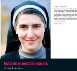 'Está en nuestras manos', nuevo libro de Teresa Forcades en DAU