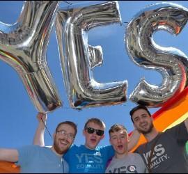 Sí a las bodas gay en Irlanda