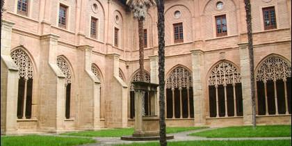 Monasterio de Santa María la Real de Nájera: Claustro de los Caballeros.