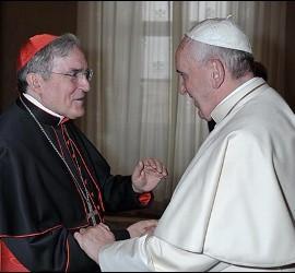 Sistach, con el Papa Francisco