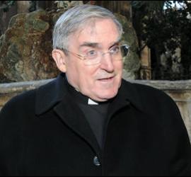 El cardenal de Barcelona, Lluís Martínez Sistach