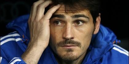 El portero Iker Casillas.