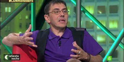 Monedero, exnúmero tres de Podemos.