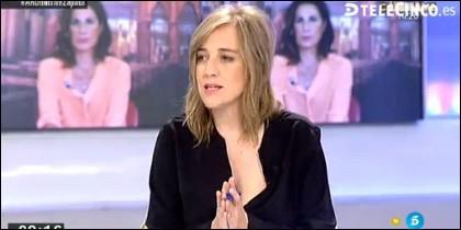 Tania Sánchez.