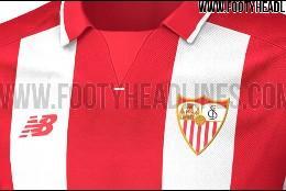 Camiseta visitante Sevilla 2016.