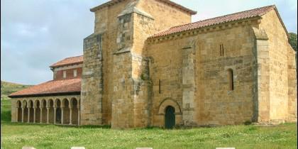 Iglesia del monasterio de San Miguel de Escalada.