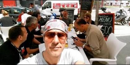 El equipo de la televisión turca.