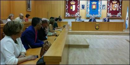 Pleno del Ayuntamiento de Talavera.
