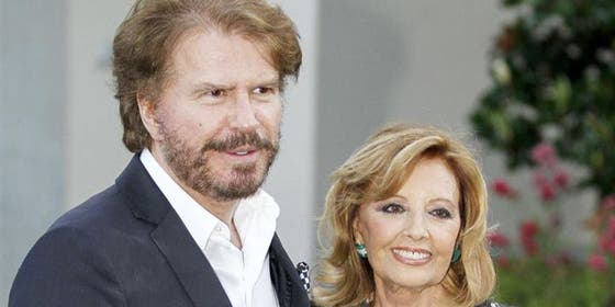María Teresa Campos con Bigote Arrocet