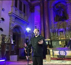 Toño Casado ¡, en la presentación de 33 en San Antón